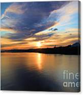 Morning Mirror Canvas Print