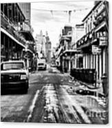 Morning On Bourbon Street Canvas Print