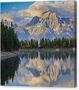Morning On Colter Bay Canvas Print