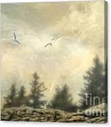 Morning On The Coast Canvas Print