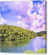 Morning On The Hanalei River Canvas Print