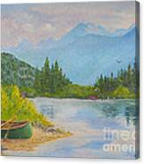 Morning On The Madison Canvas Print