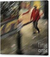 Morning People - The Man Canvas Print