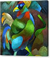 Morning Rooster Canvas Print
