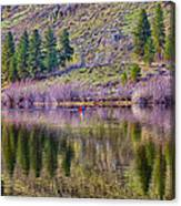 Morning Rowing Canvas Print