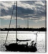 Morning Sail Canvas Print