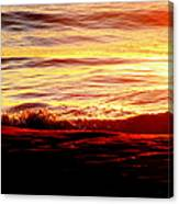 Morning Splash Canvas Print