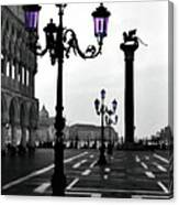 Morning - St. Mark's Square Canvas Print