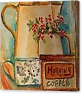 Morning Still Canvas Print