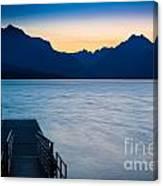Morning Stillness Canvas Print