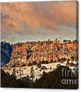 Morning Sun On The Ridge Canvas Print