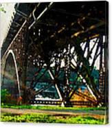 Morning Under The Bridge Canvas Print