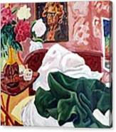 Morning's Disorder Canvas Print