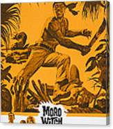 Moro Witch Doctor, Us Poster Art, 1964 Canvas Print