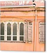 Moroccan Building Canvas Print