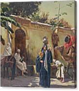 Moroccan Scene Canvas Print