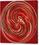Morphed Art Globe 41 Canvas Print