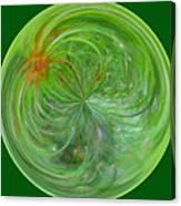 Morphed Art Globe 5 Canvas Print