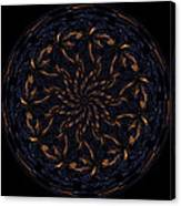 Morphed Art Globes 14 Canvas Print
