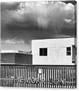 Morrison Cloud Bw Palm Springs Canvas Print