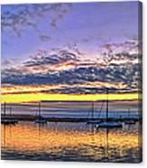 Morro Bay Panorama Canvas Print
