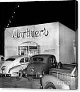 Mortimers Dining  Dancing Marina California  Circa 1948 Canvas Print