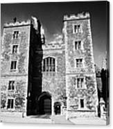 mortons tower lambeth palace London England UK Canvas Print