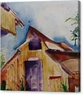 Mo's Barn Canvas Print