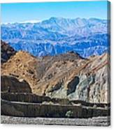 Mosaic Canyon Picnic Canvas Print