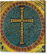 Mosaic Cross Ravenna I Canvas Print