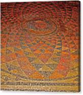 Mosaic Floor In Bergama Museum-turkey Canvas Print