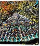 Mosaic Fly Canvas Print