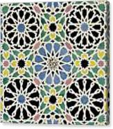 Mosaic Pavement In The Dressing Room Of The Sultana Canvas Print
