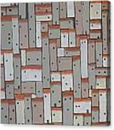 Mosaic Village 3 Canvas Print