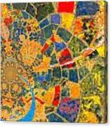 Mosaik Canvas Print