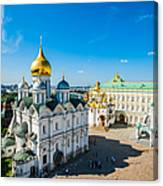 Moscow Kremlin Tour - 34 Of 70 Canvas Print