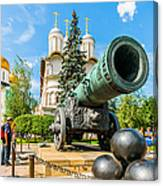 Moscow Kremlin Tour - 67 Of 70 Canvas Print