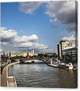 Moscow River - Russia Canvas Print