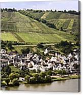 Mosel Wine Village Canvas Print