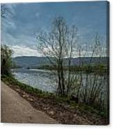 Moselle River Canvas Print