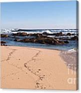 Moses Rock Beach 02 Canvas Print