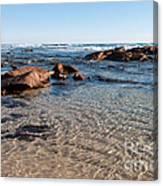 Moses Rock Beach 04 Canvas Print