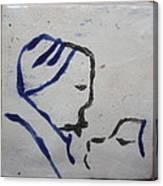 Moses - Tile Canvas Print