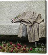 Mosiac Bench Canvas Print