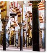 Mosque Cathedral Of Cordoba  Canvas Print
