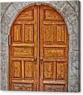 Mosque Doors 06 Canvas Print