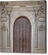 Mosque Doors 13 Canvas Print