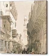 Mosque El Mooristan, Cairo, From Egypt Canvas Print