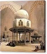 Mosque Of Sultan Hassan Canvas Print