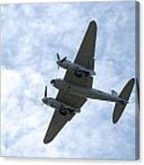 Mosquito On Final Approach Canvas Print